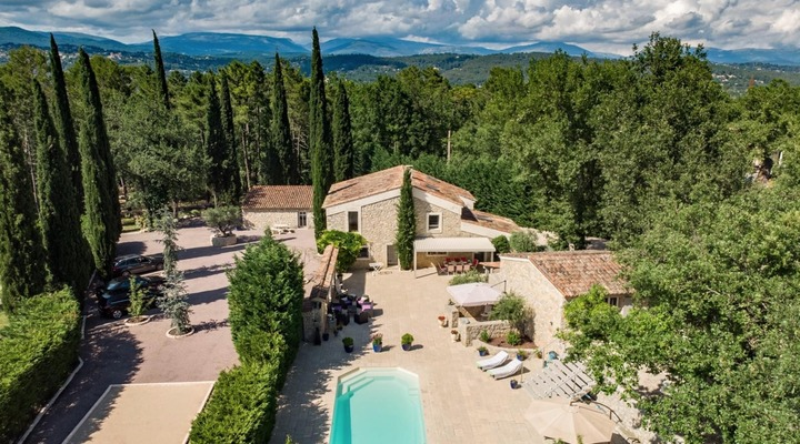 A haven of peace in the heart of the canton of Fayence